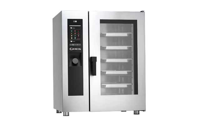 Giorik SEHG101WT 10 Tray GAS Combi Oven