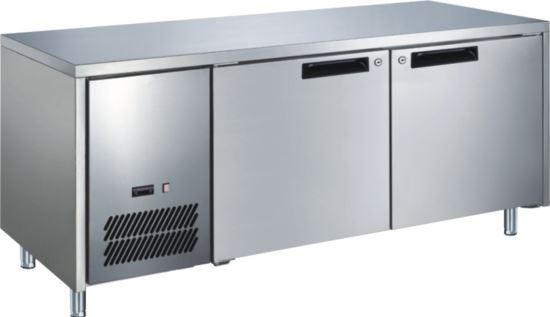 Advantage Platinum 2 Solid Door Slimline Underbar Fridge