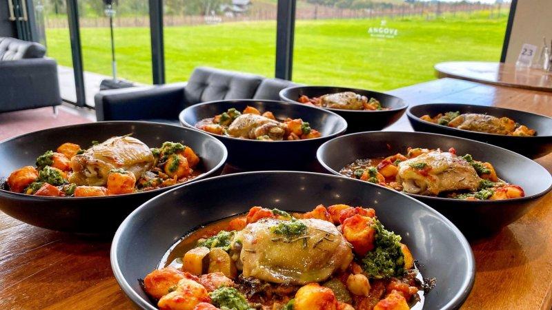 Sunday Lunch Mc Laren Vale Organic Vineyard