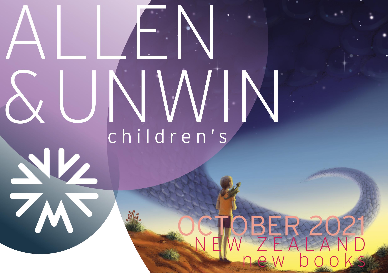 October 2021 NZ KIDS NEW BOOKS