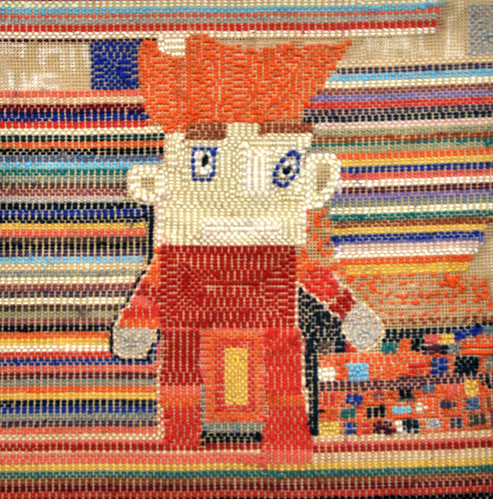 EXHIBITION: Home & the fabric of the familiar