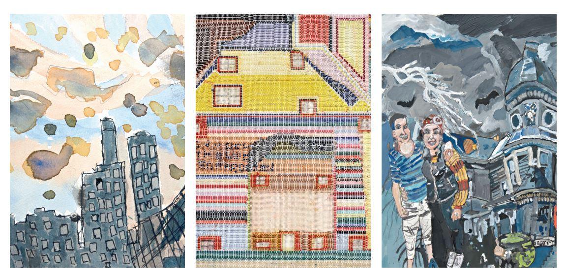 3 x 3: Bobby Kyriakopoulos, Fiona Longhurst and Malcolm Sturrock @ Arts Project Australia