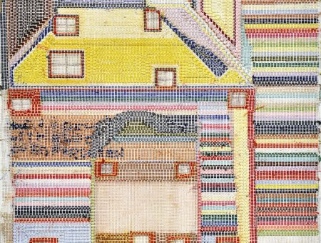Fiona Longhurst, Not titled, 2004, thread, wool, embroidery, 44 x 43 cm