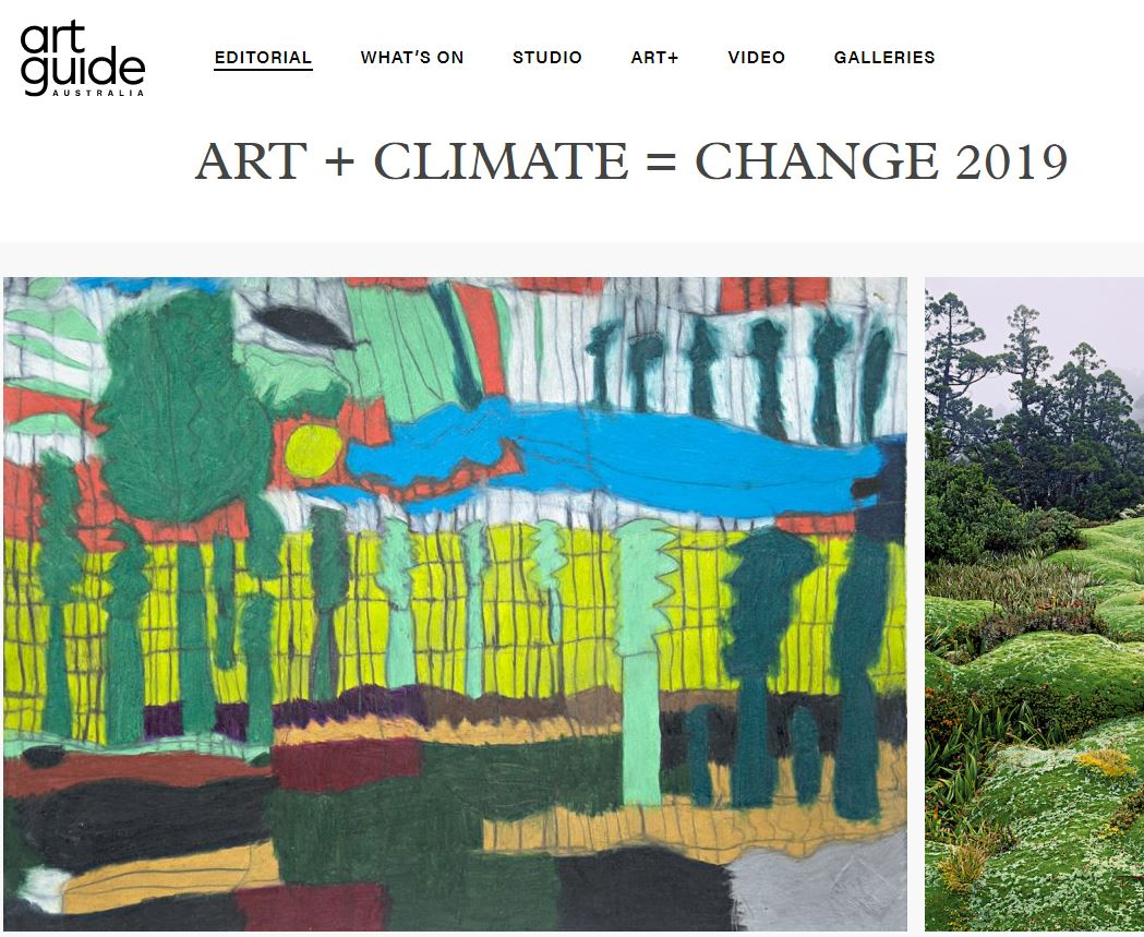 ART GUIDE AUSTRALIA: CLIMARTE Exhibition | 2019