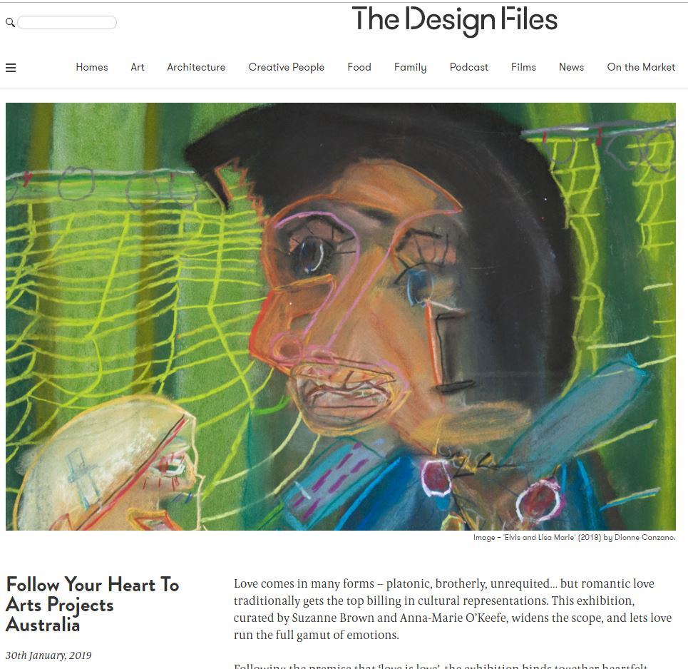 THE DESIGN FILES: Whatever You Love, You Are Exhibition | 2019
