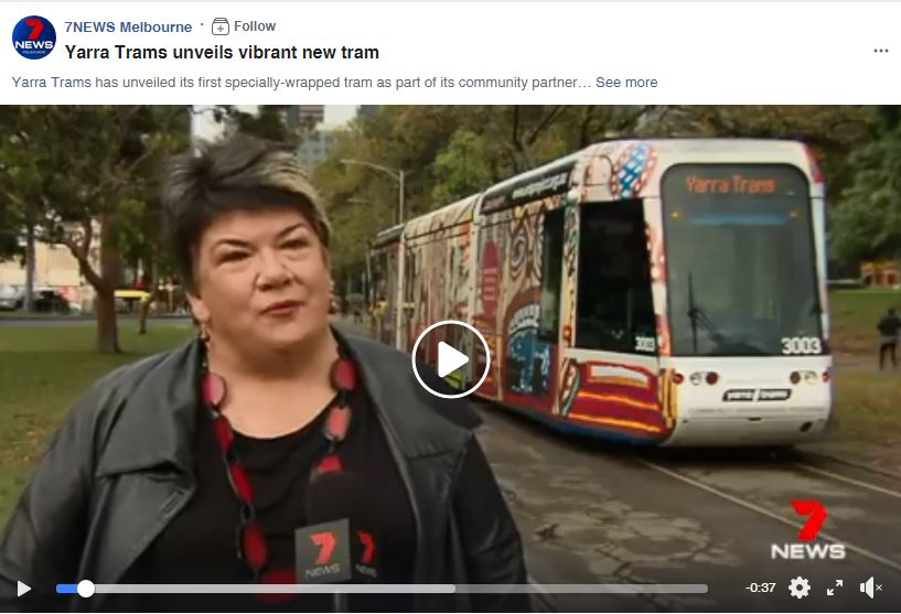 CHANNEL 7 NEWS: Arts Project x Yarra Trams Partnership | 2018