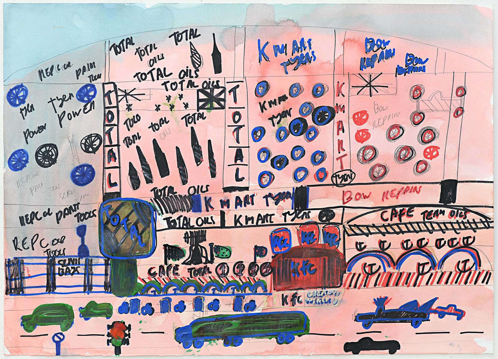 Frenetic workings of the western world: Steven Perrette Solo @ Arts Project Australia