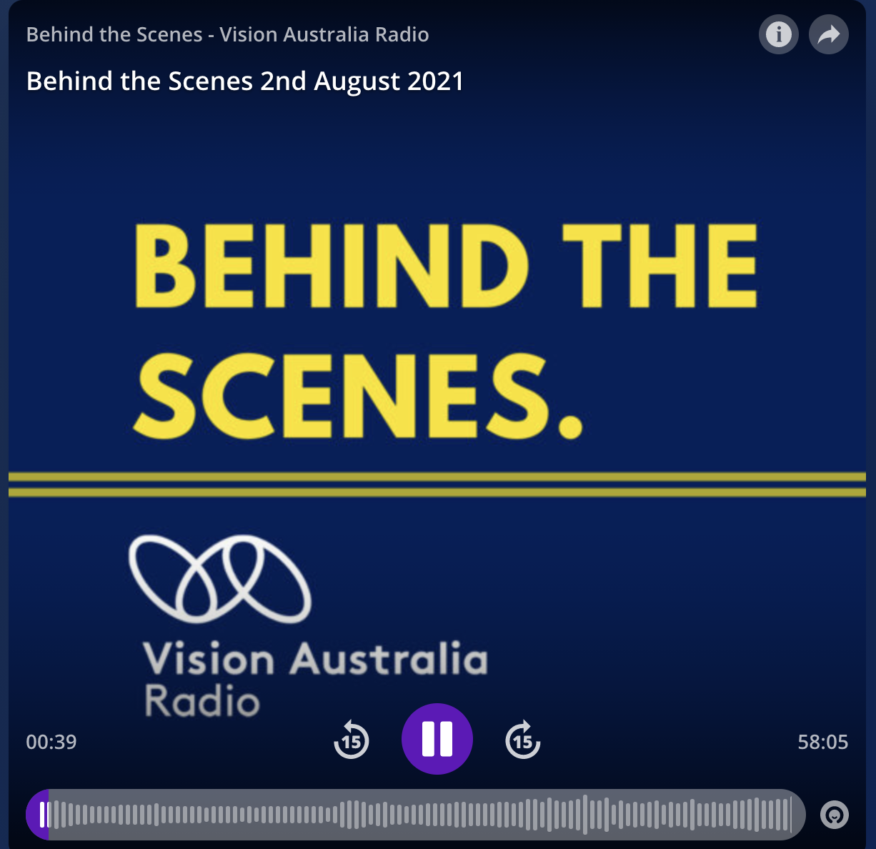 Vision Australia | 2021