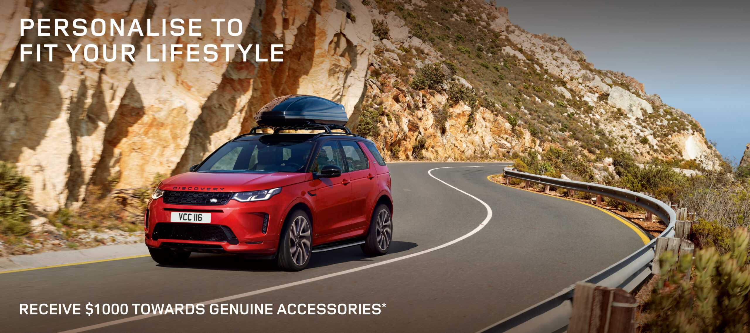 Land Rover $1000 Accessories Offer