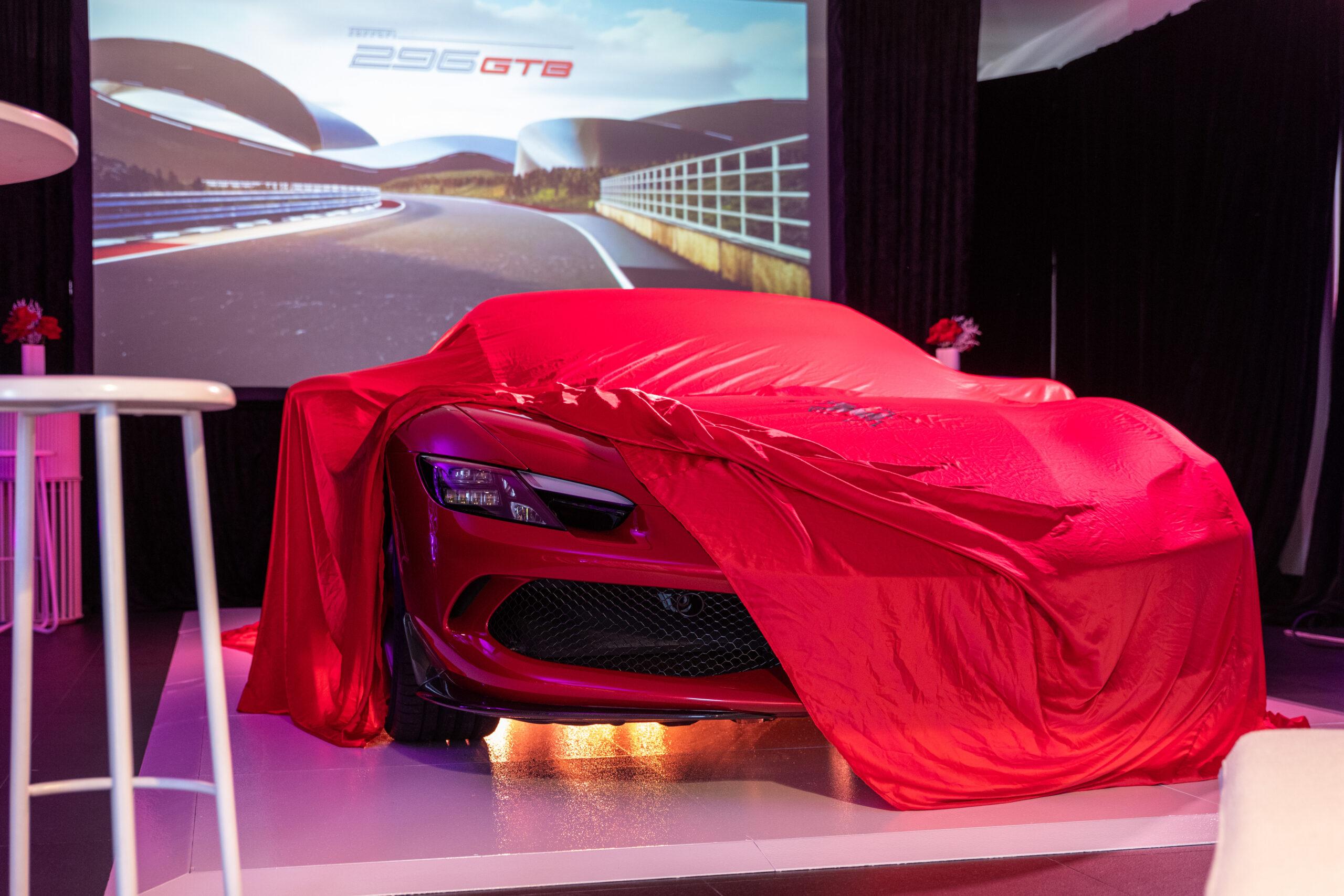 Barbagallo Ferrari launch