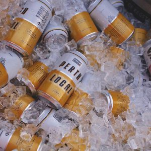 Cold cans on Perth Local Larger