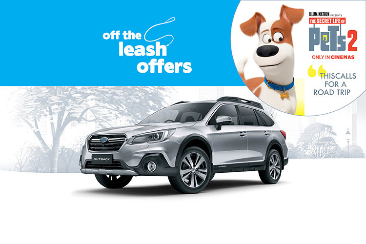 Off the Leash Outback 2.5i Premium AWD + 2 Years Servicing