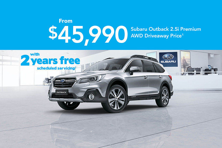 Off the Leash Outback 2.5i Premium AWD + Servicing Offer