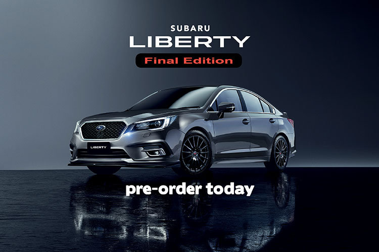 Subaru Liberty Final Edition