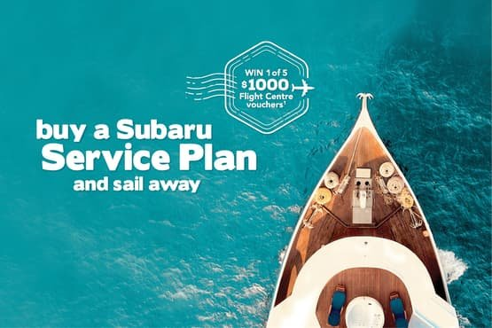 Buy a Subaru Car Service Plan and Sail Away