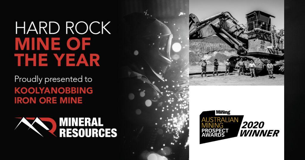 Hard Rock Mine of the year