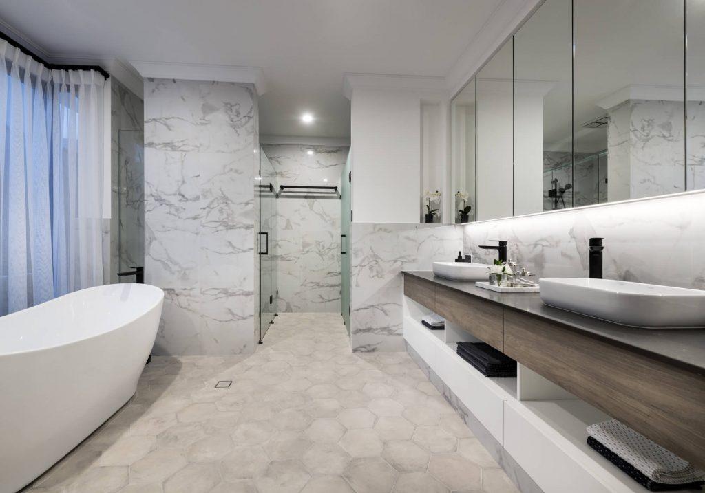 coco style bathroom