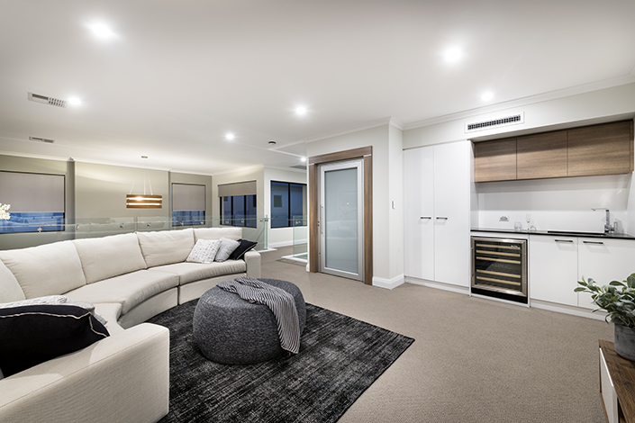Double Story Interior - Stannard Homes