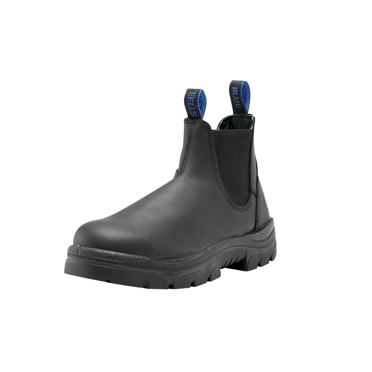 Ankle Work Boot With Steel Toe Cap