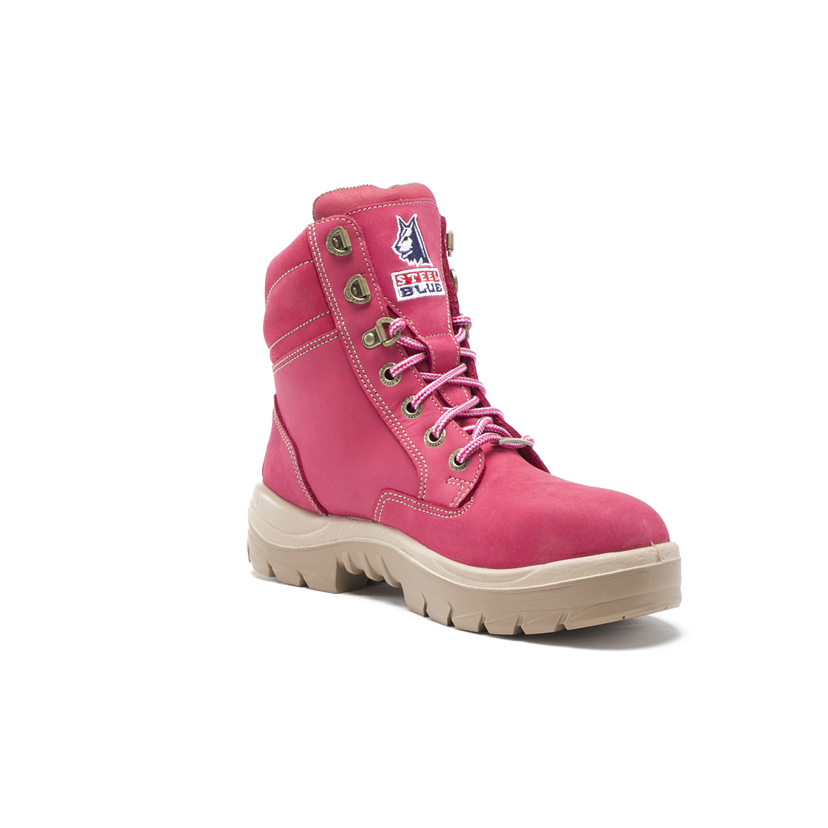 Southern Cross Ladies Pink Work Boots