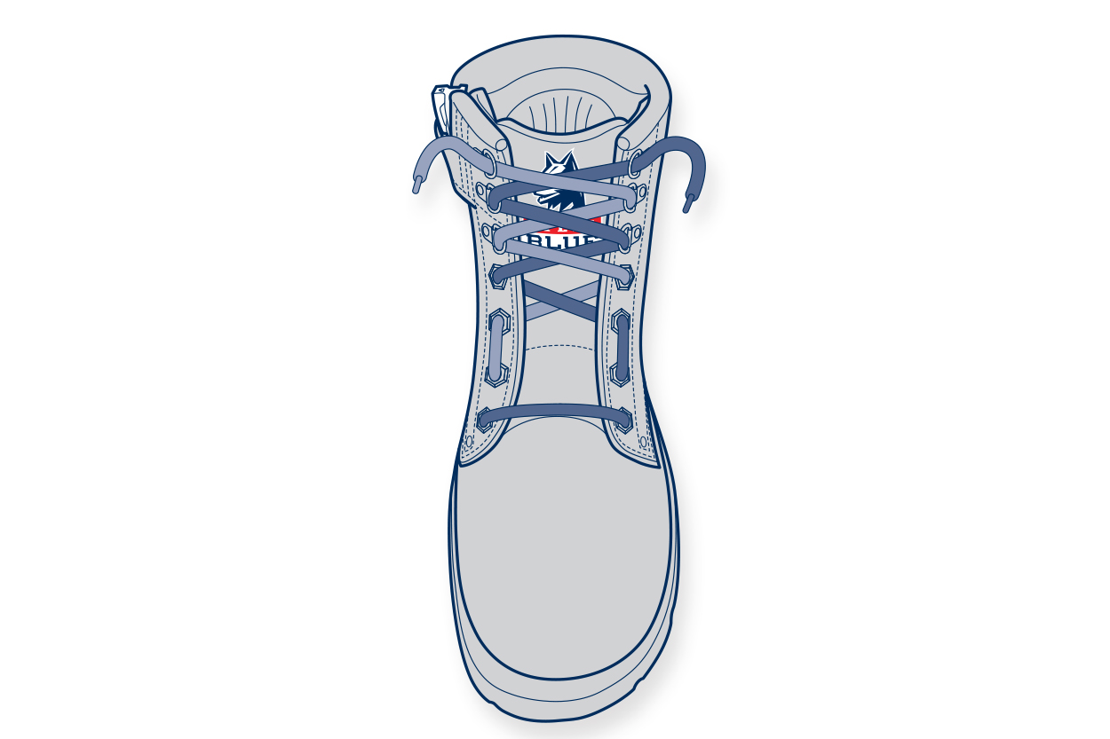 LT1. 11910-Steelblue-Lacing-Guide-wide-forefoot_logo