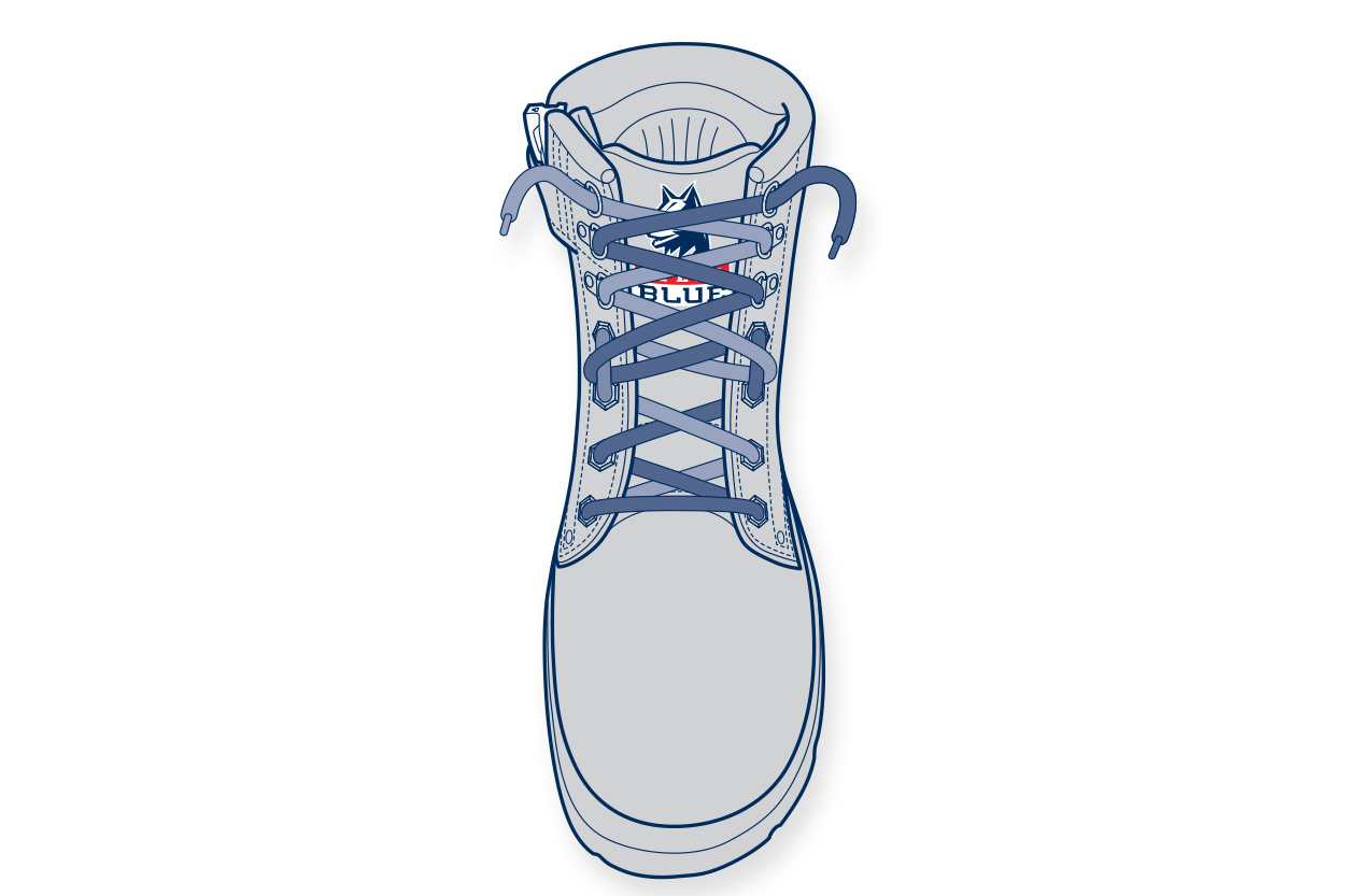 LT5. 11910-Steelblue-Lacing-Guide-shallow-instep_logo