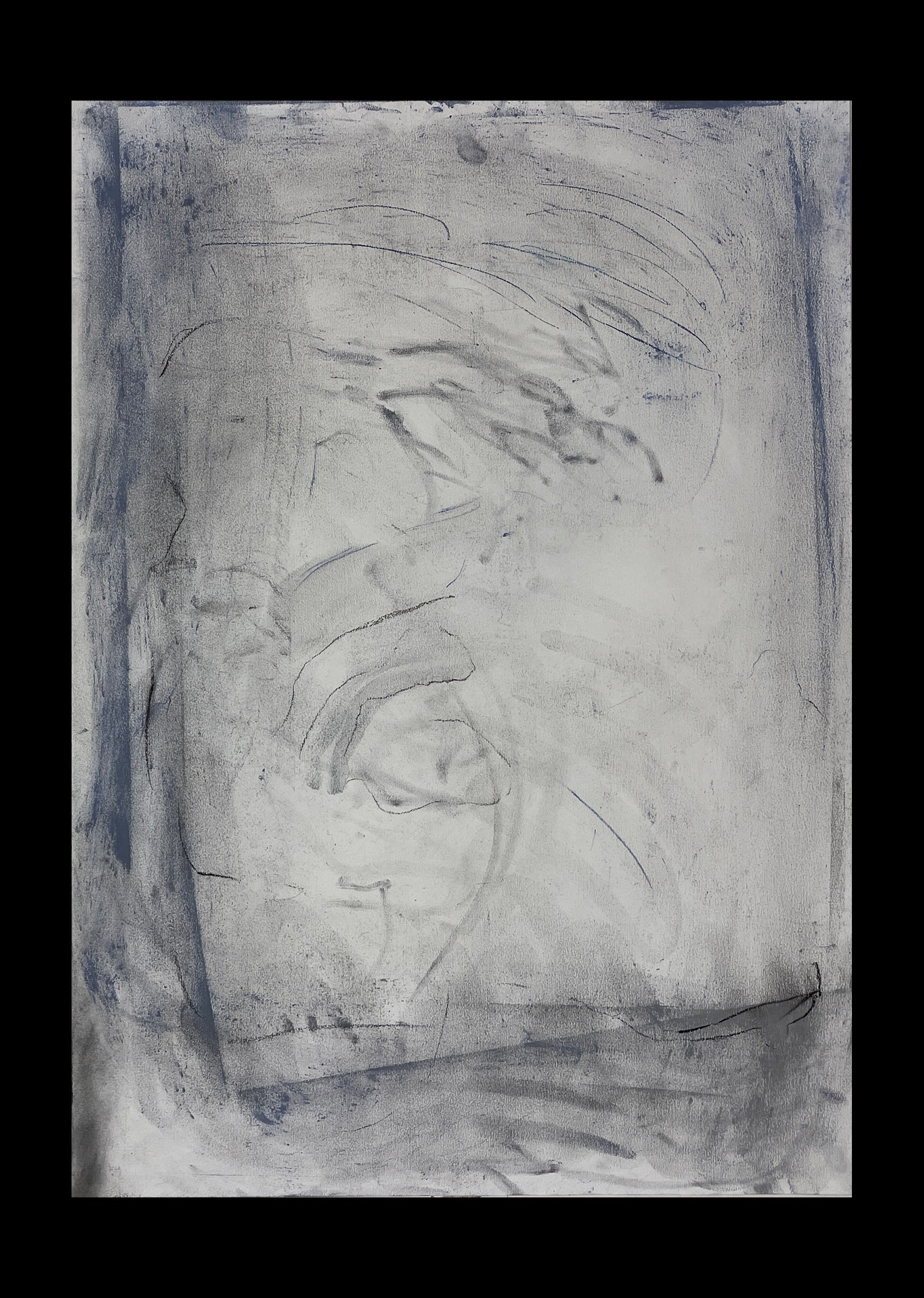Liam Costar At the above a mindscape Drawing A2 Black 03