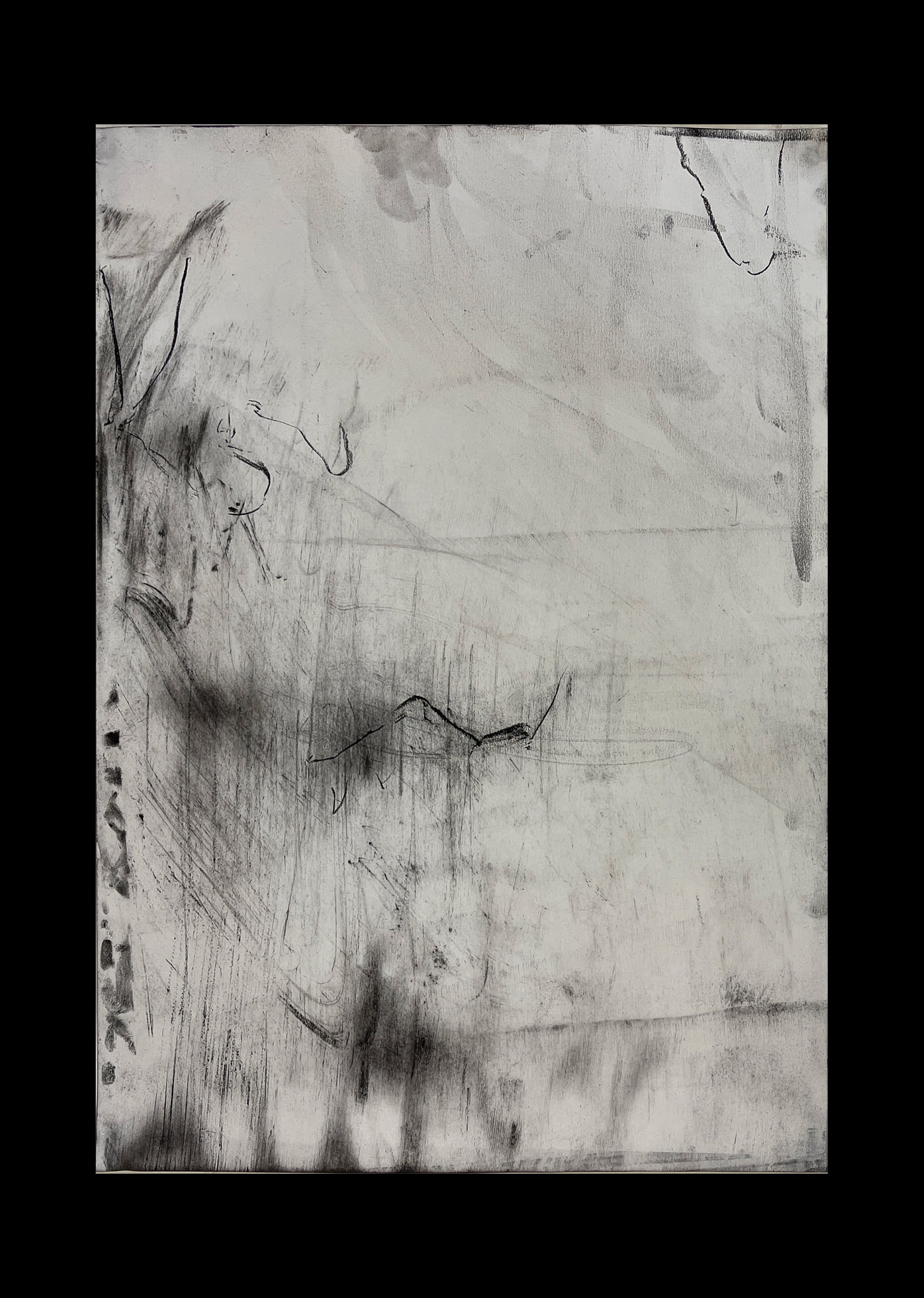 Liam Costar At the above a mindscape Drawing A2 Black 05