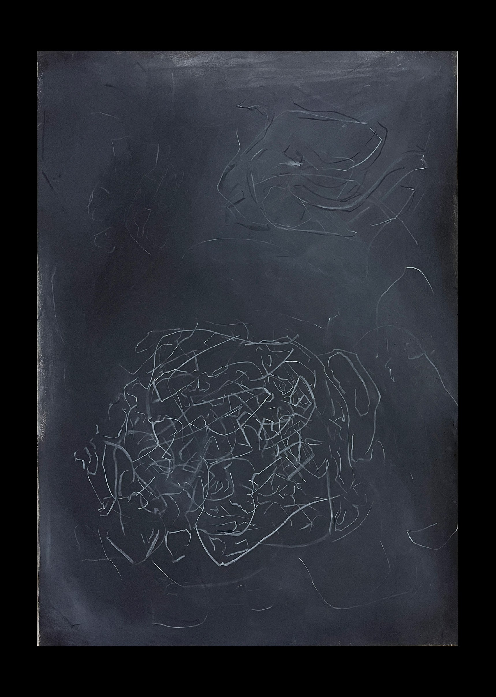 Liam Costar At the above a mindscape Drawing A2 Black 10