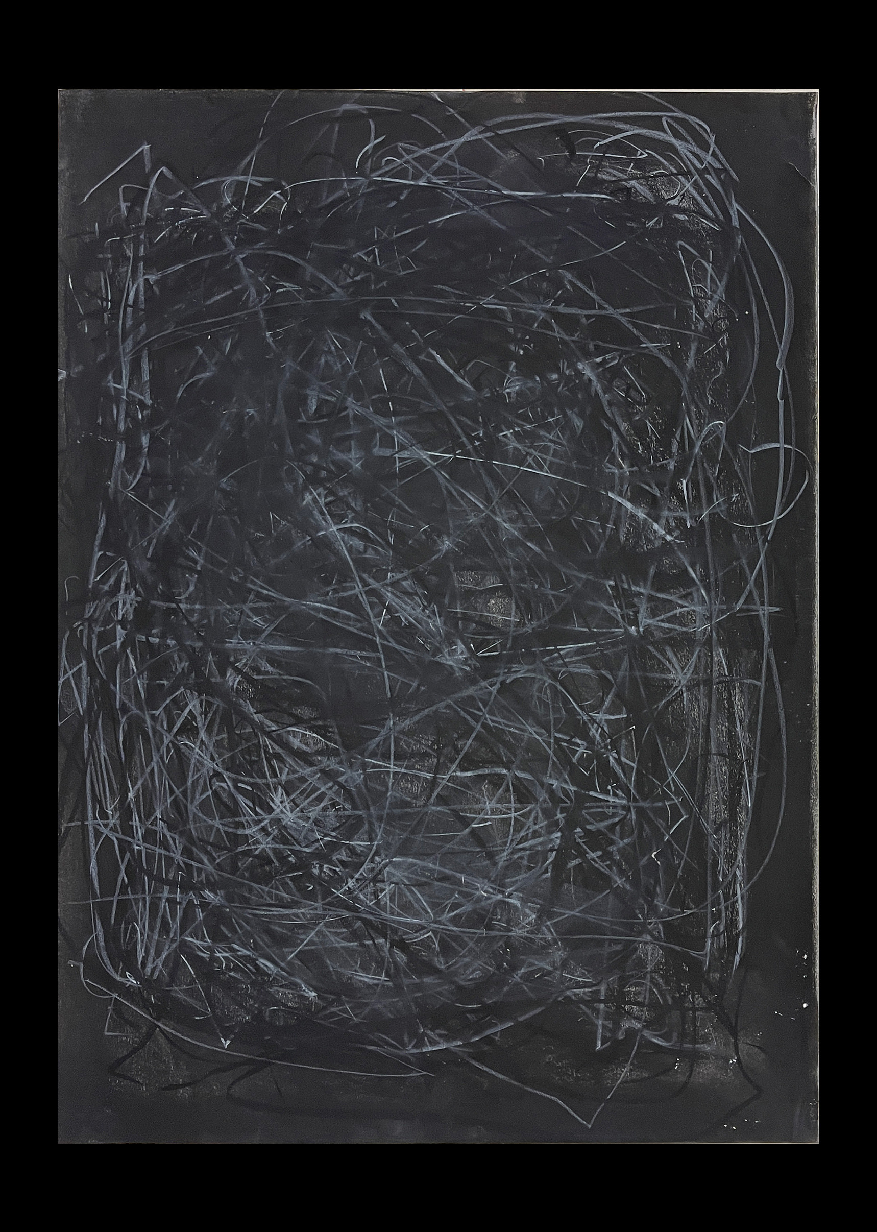 Liam Costar At the above a mindscape Drawing A2 Black 11