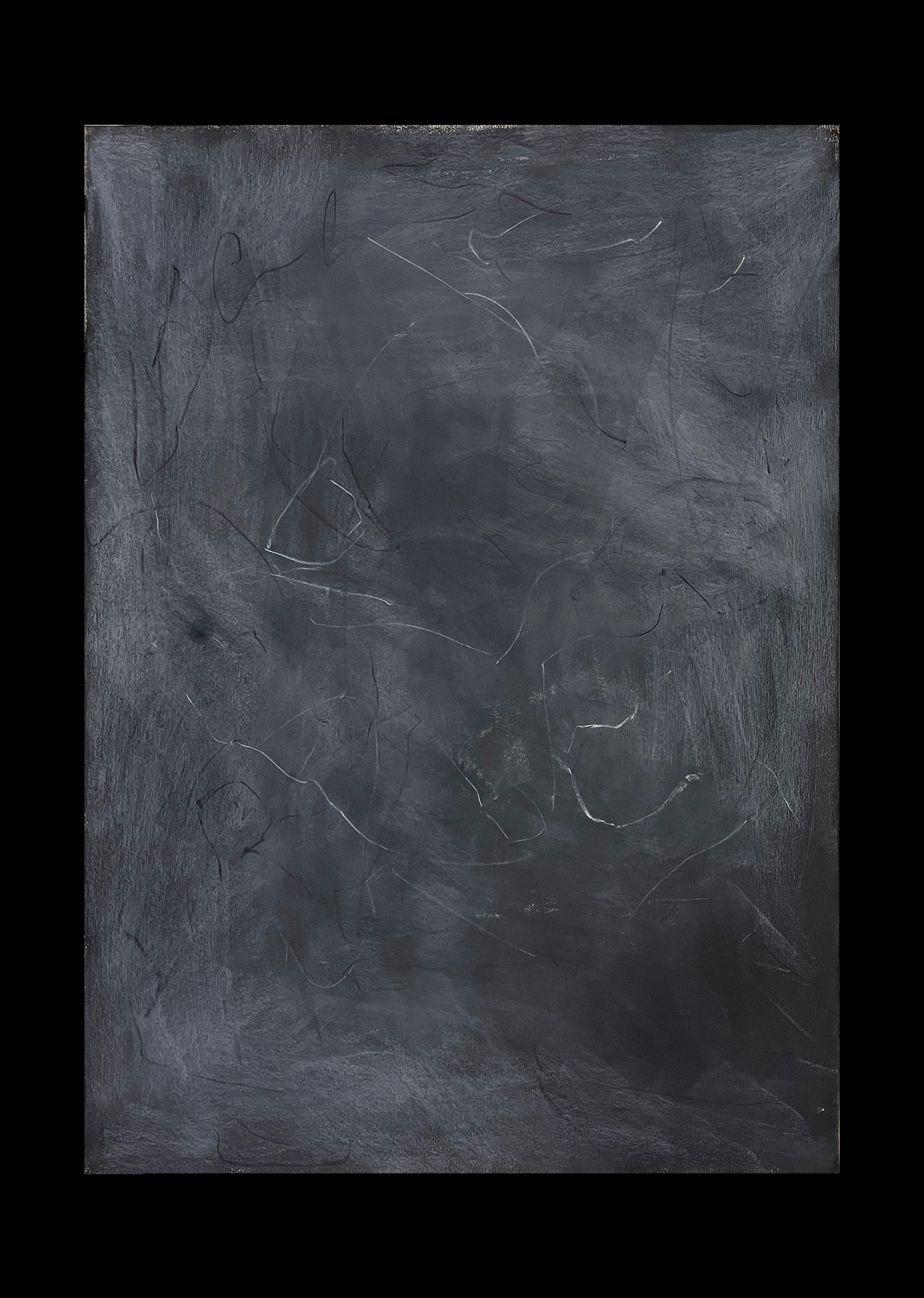 Liam Costar At the above a mindscape Drawing A2 Black 12