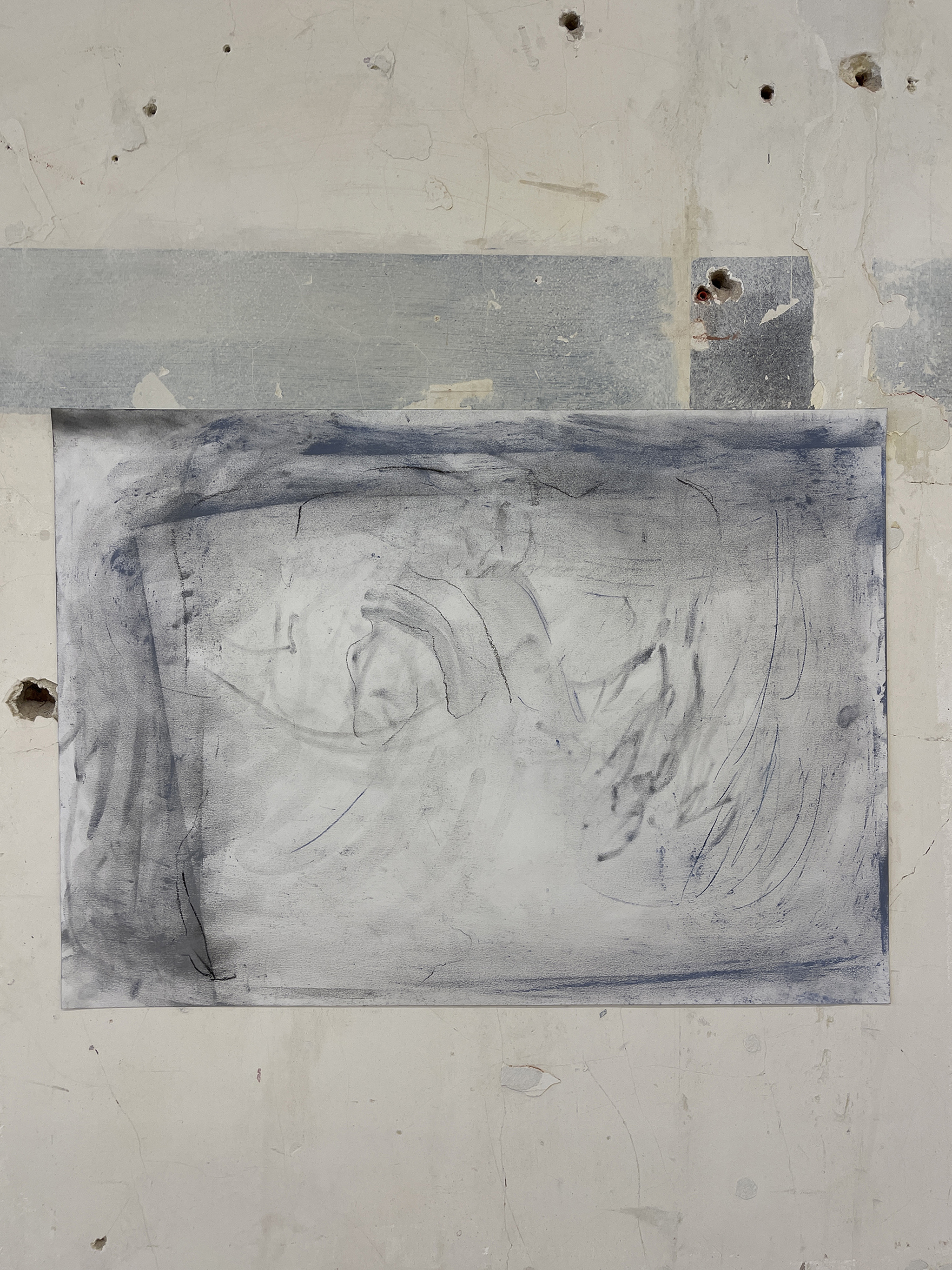 Liam Costar At the above a mindscape Drawing A2 Situ 03