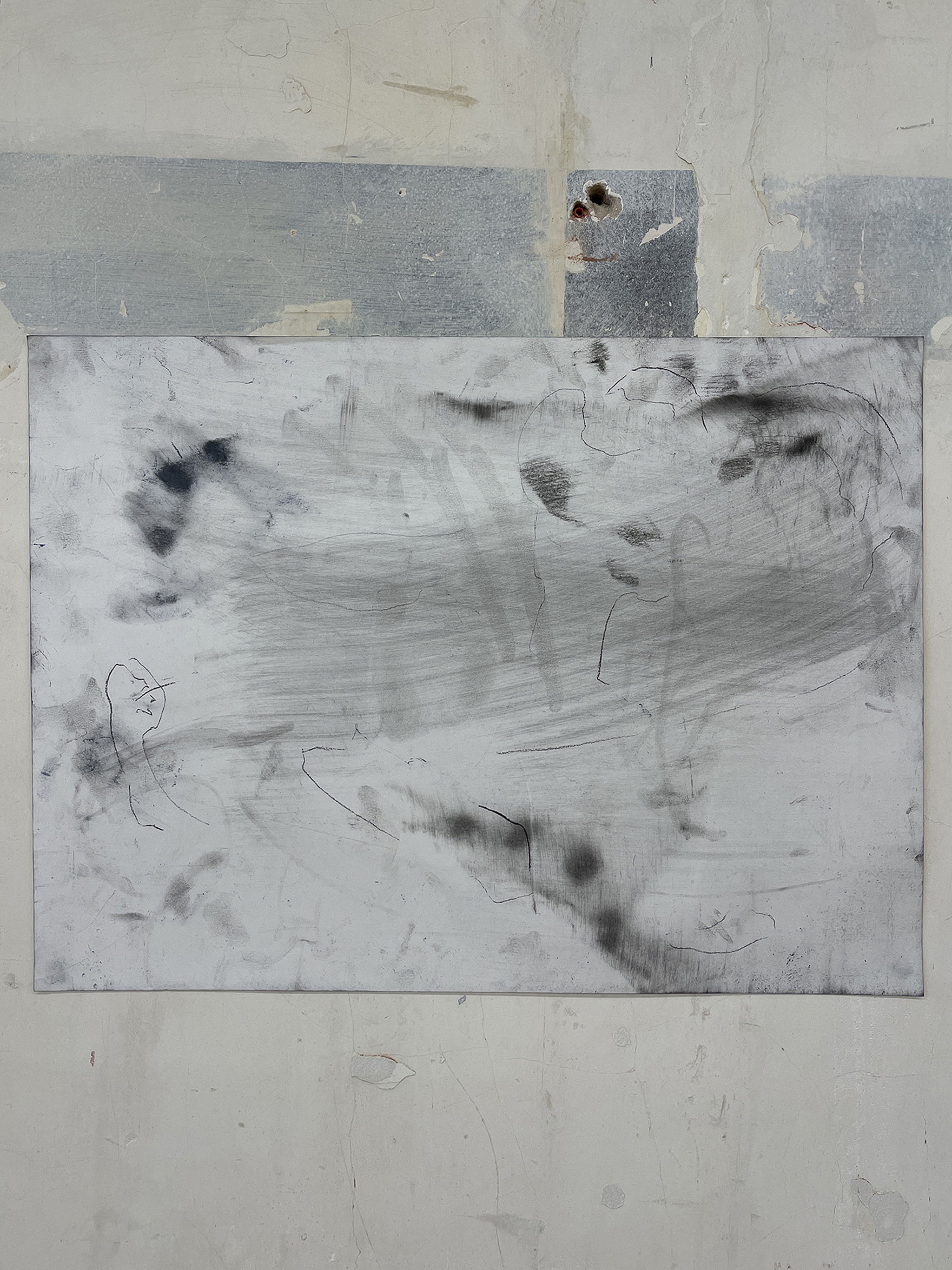 Liam Costar At the above a mindscape Drawing A2 Situ 06