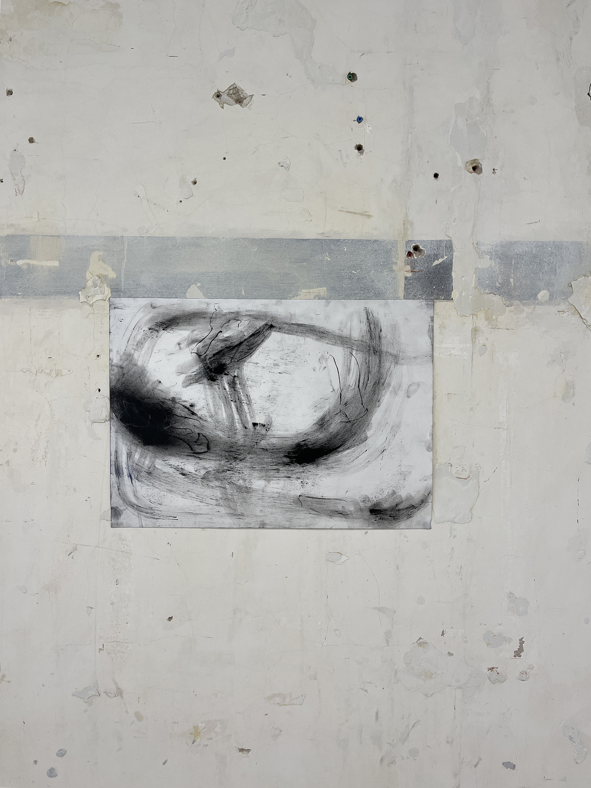 Liam Costar At the above a mindscape Drawing A2 Situ 09