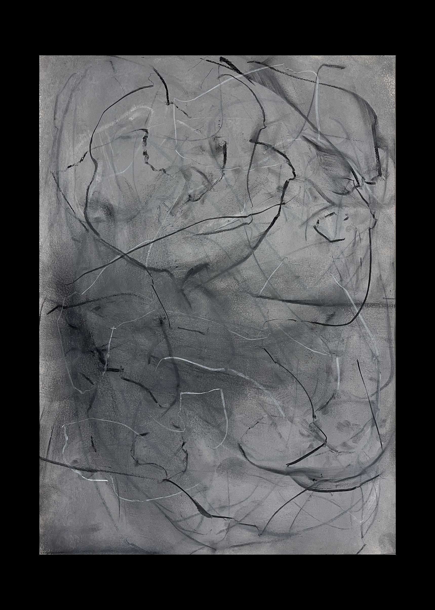 Liam Costar At the above a mindscape Drawng A3 Black 07