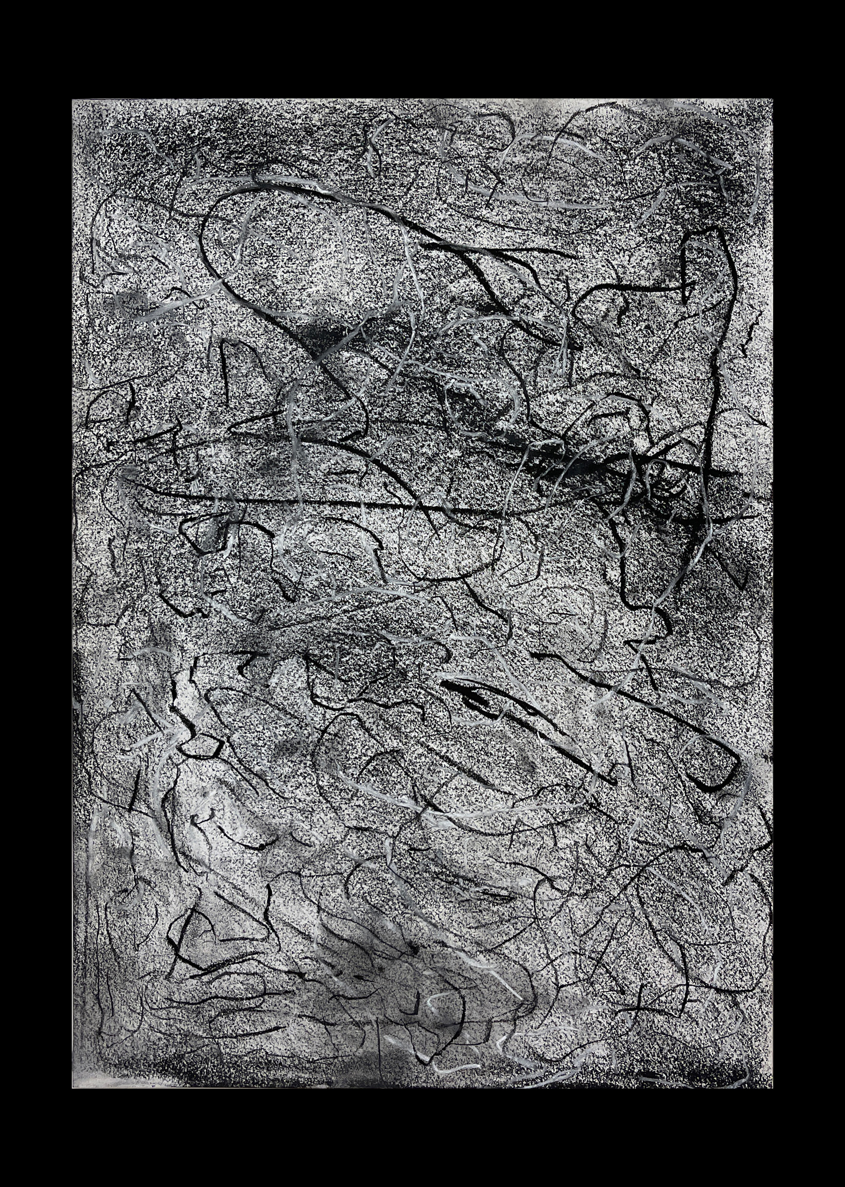 Liam Costar At the above a mindscape Drawng A3 Black 18