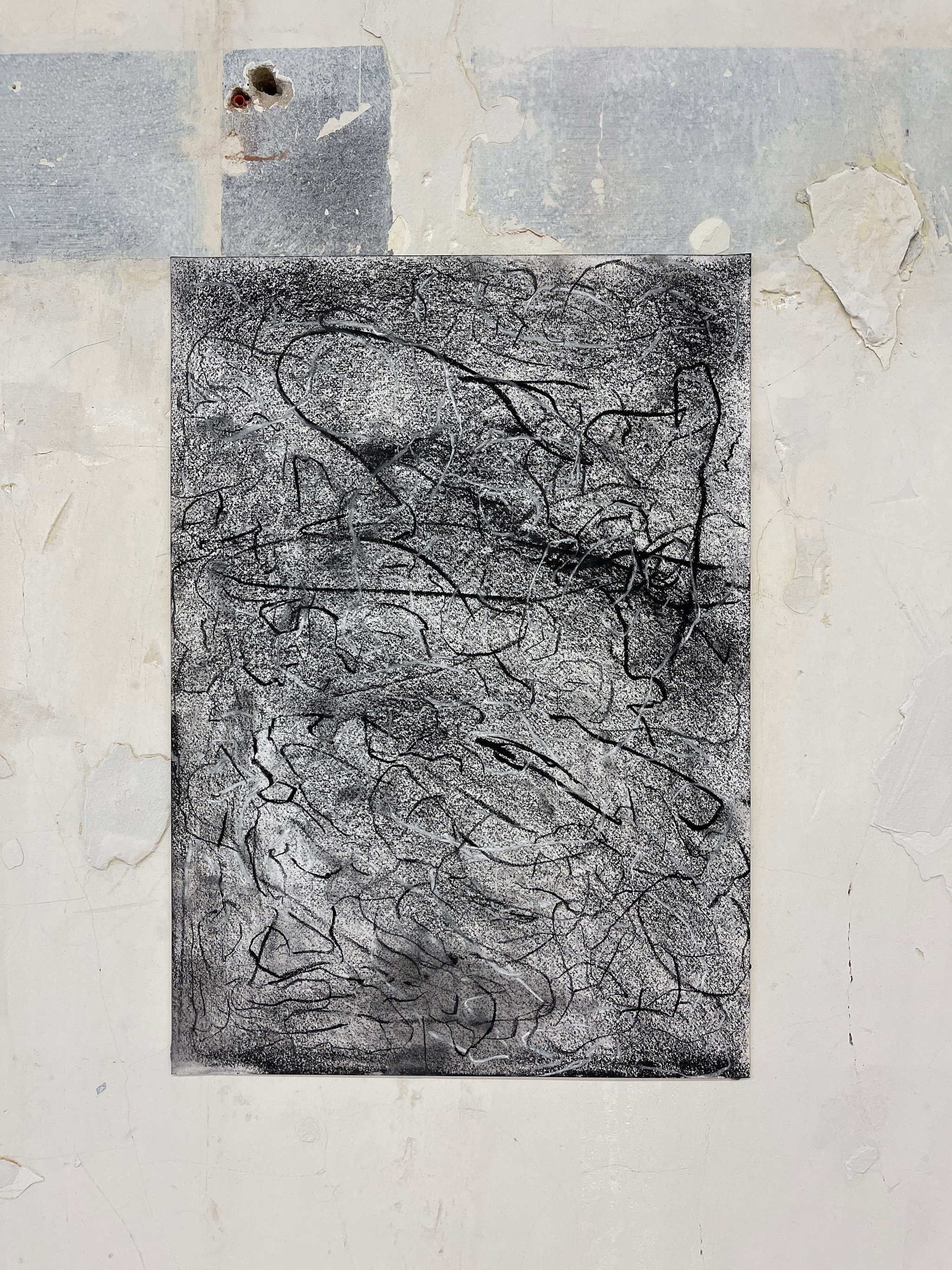 Liam Costar At the above a mindscape Drawng A3 Situ 18