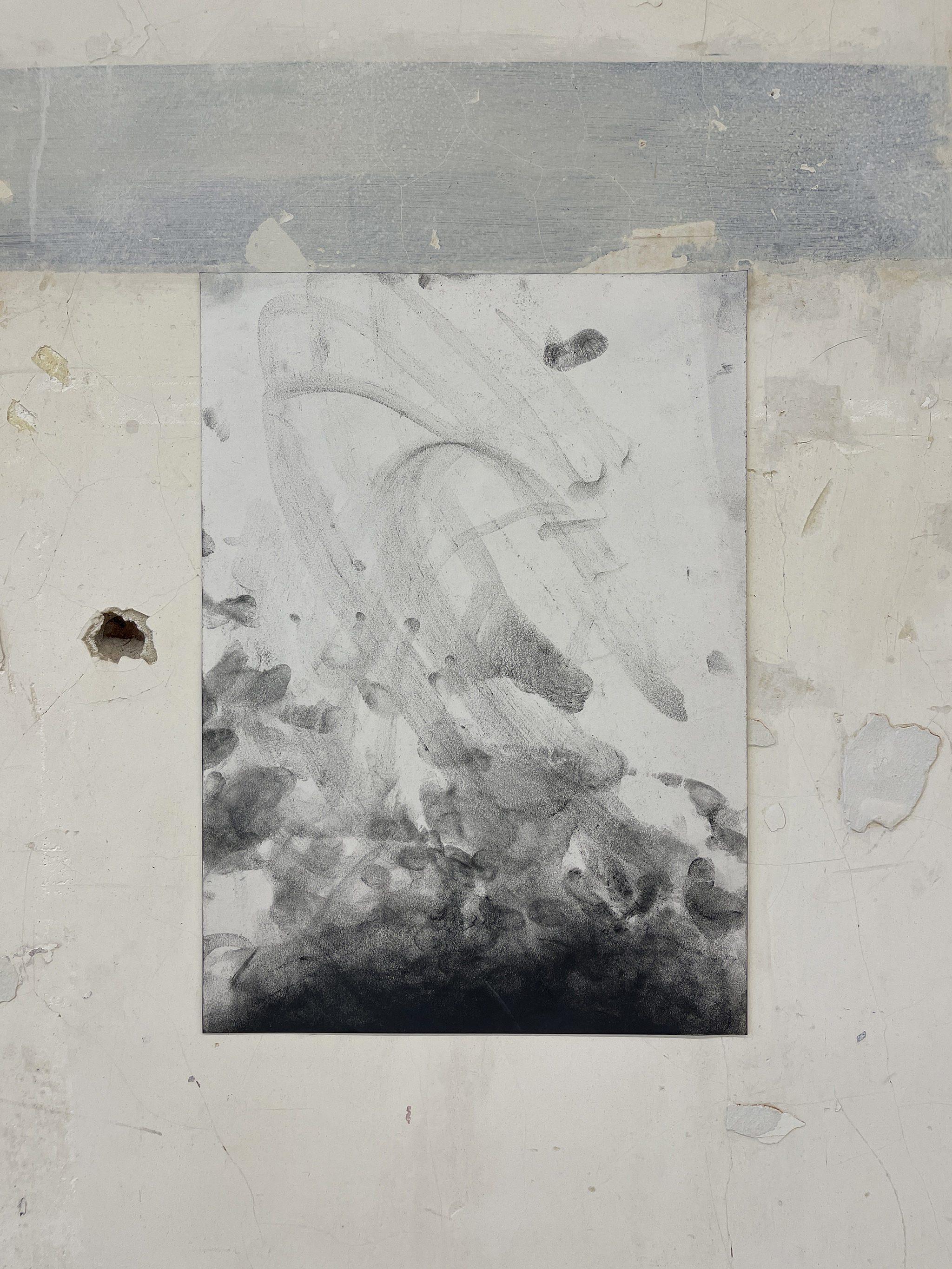 Liam Costar At the above a mindscape Drawng A3 Situ 19
