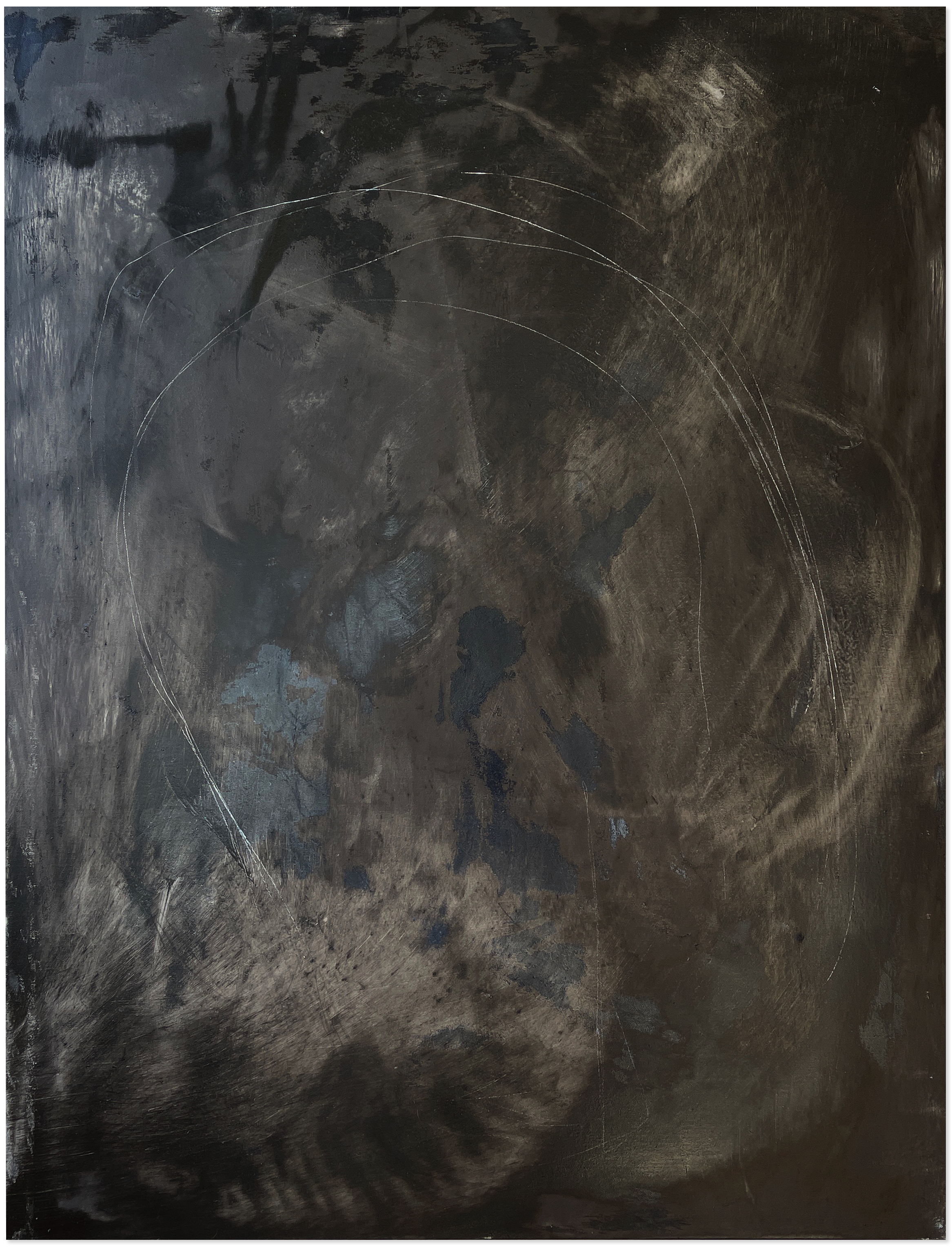 Liam Costar At the above a mindscape Catalogue a anemic circle of pleasure oil charcoal acrylic 122cmx91cm