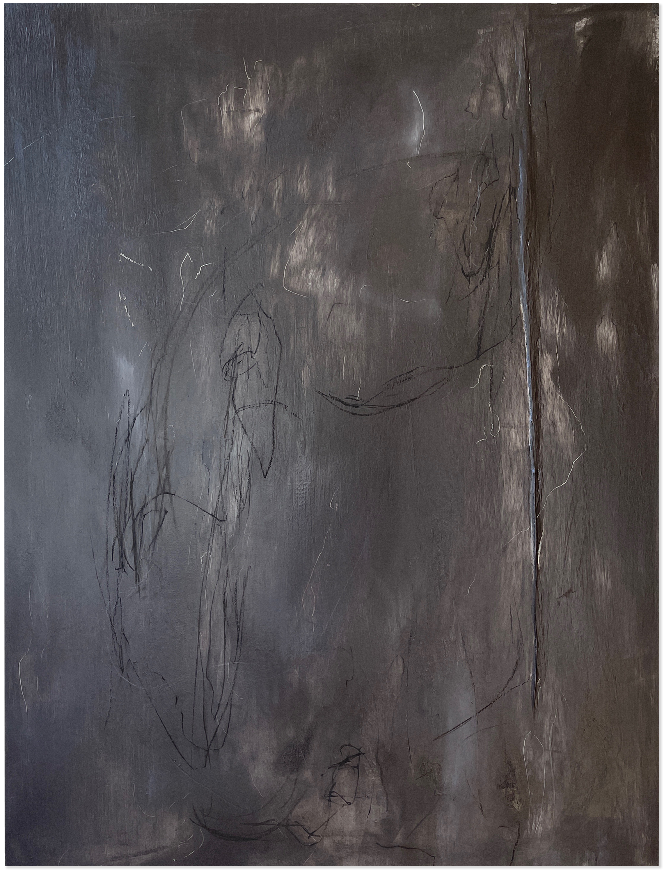 Liam Costar At the above a mindscape Catalogue a refusal of truths Oil charcoal 122cmx91cm