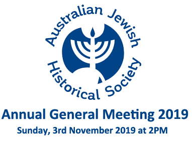 AJHS – NSW Annual General Meeting 2019