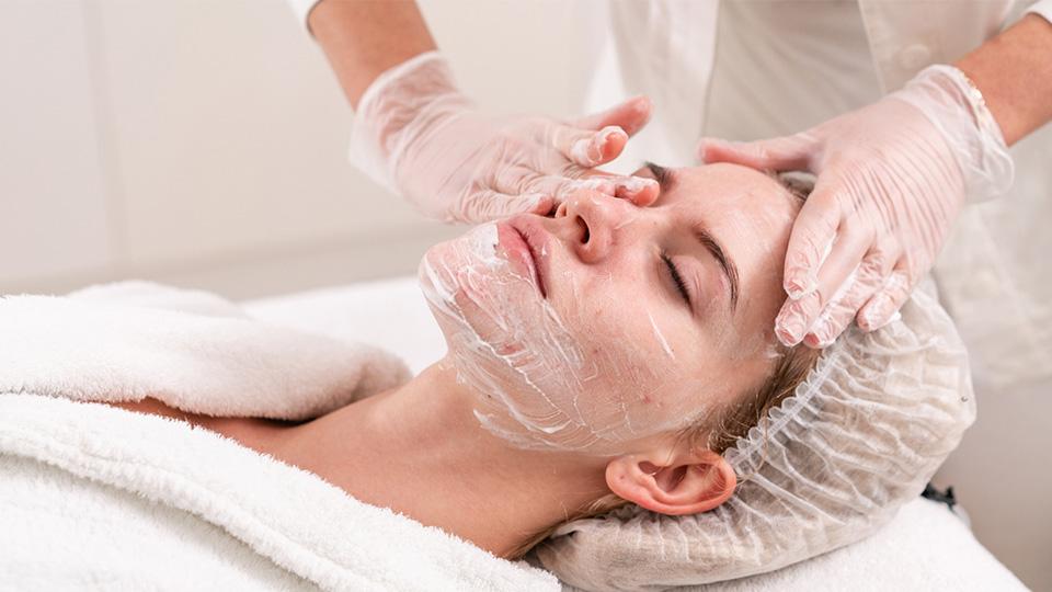 Medical-grade facials and peels