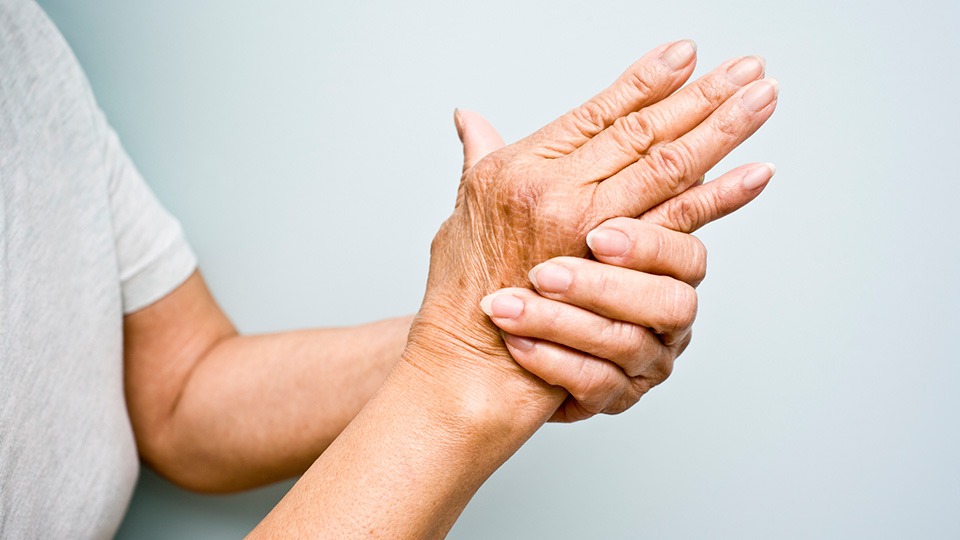 Wrinkly hands