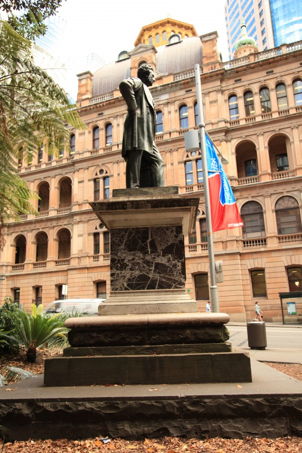 Thomas Mort at Macquarie Place