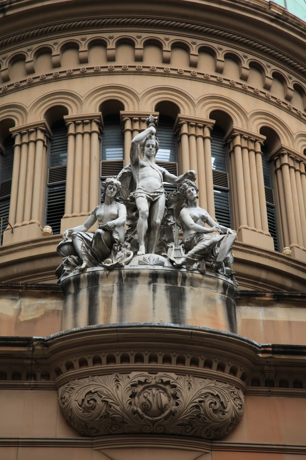 QVB sculptures west
