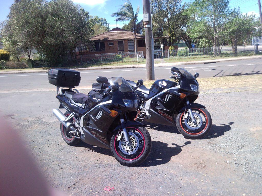 Identical black VFR