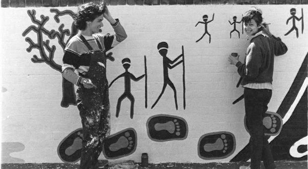 40,000 Years mural