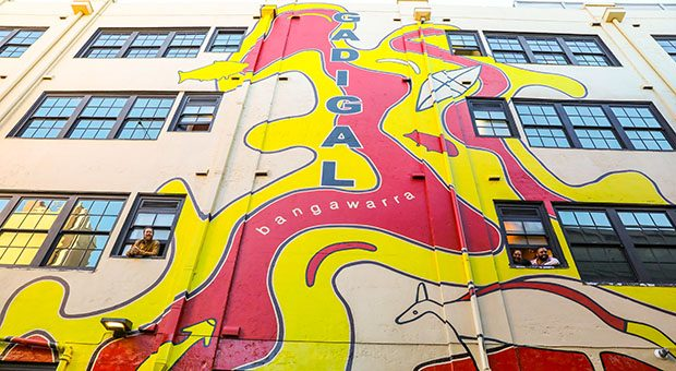 Gadigal mural