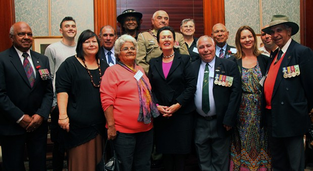 Military service and Aboriginal voices