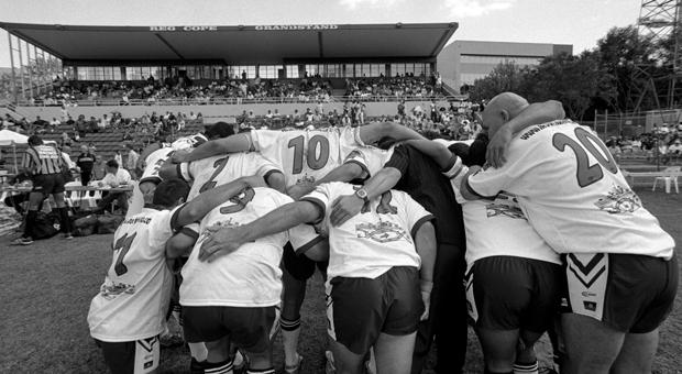 Redfern All Blacks Memorial team